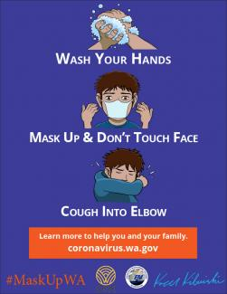 An Infographic encouraging young teens to wear a mask